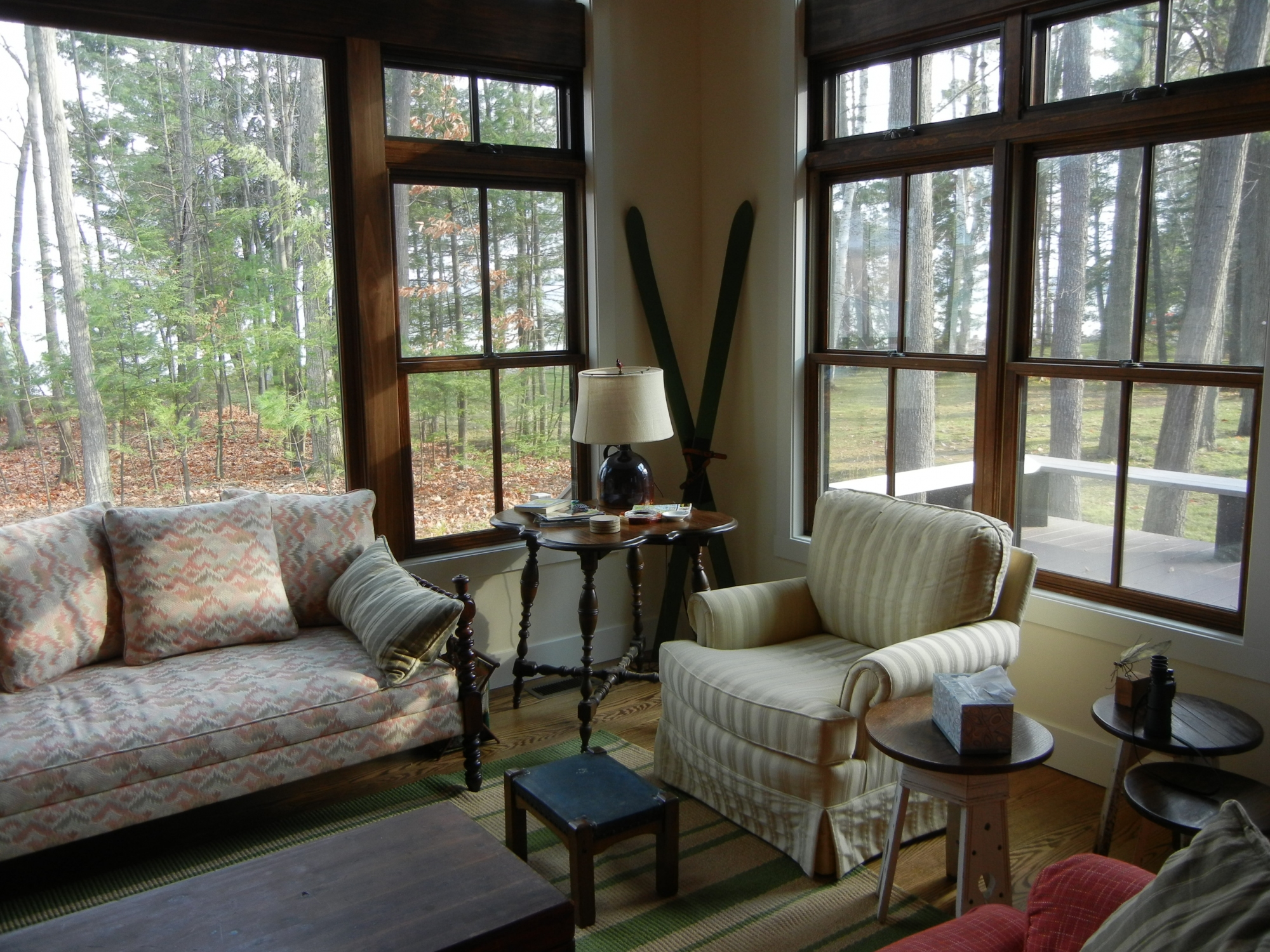 skegemog cabin mandybrown vacation lake haven houghton about waters home on our forest team cabins rentals